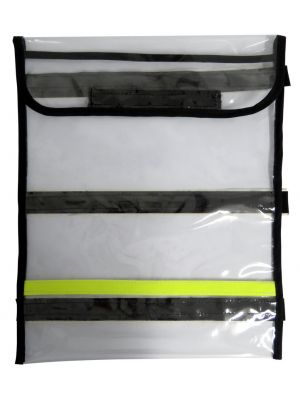 Clear Plastic Document Bag A4