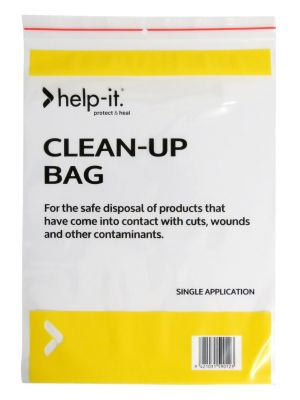 Help-It Clean Up/Contaminant Bag