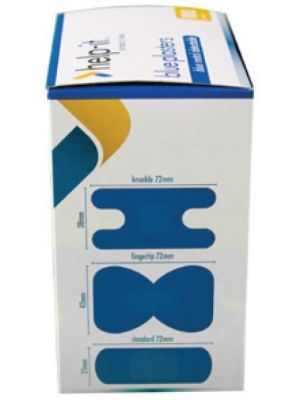 Help-It Blue Metal Detectable Plasters Assorted