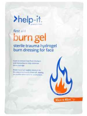 Help-It Burn Dressing Face Mask 30cm x 40cm