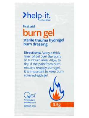Help-It Burn Gel Sachet 3.5g