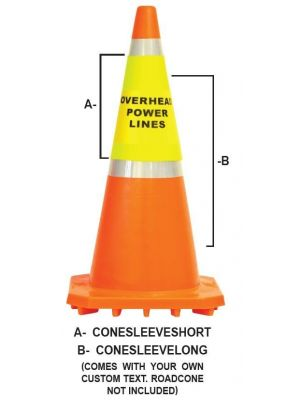Road Cone Cover Longsleeve in Yellow