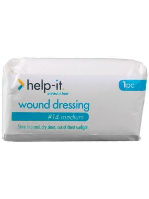 Help-It No. 14 Wound Dressing with Pad Size 10x15cm