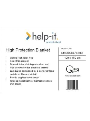 Heavy Duty Emergency Blanket 120cm x 150cm