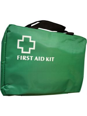 Large Green First Aid Bag with Handles