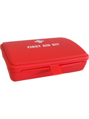 Small Empty Red First Aid Box w/ Printing