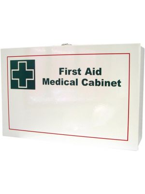 First Aid Metal Box Wall Mountable - Large White