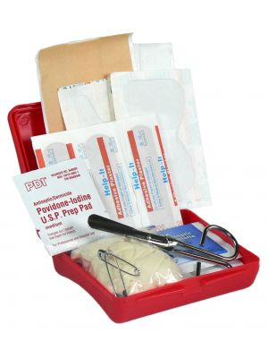 First Aid Essentials Kit - Red Box Options