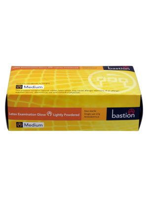 Bastion Latex Powdered Gloves Large