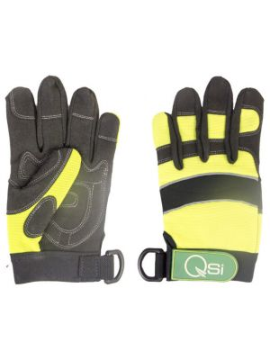 Mech Gloves - Synthetic Leather/Spandex with Tool Attachment
