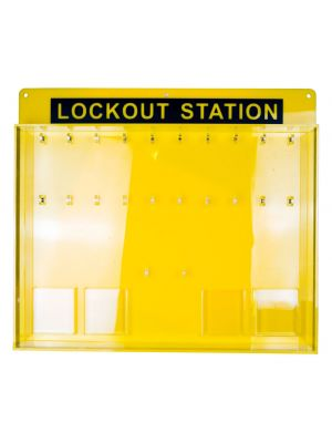 Lockout Station - 20-locks - without Cover