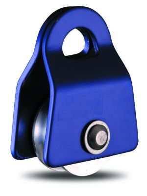 Small Single Pulley - 30mm Sheave Floating Sides - 121g