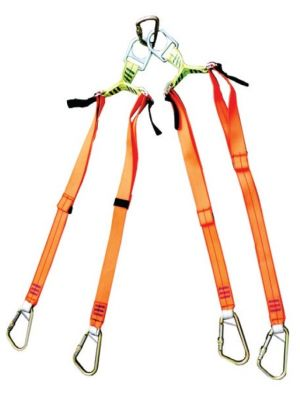 Stretcher Lifting Bridle - Adjustable Legs
