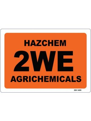 HAZCHEM 2WE AGRICHEMICALS