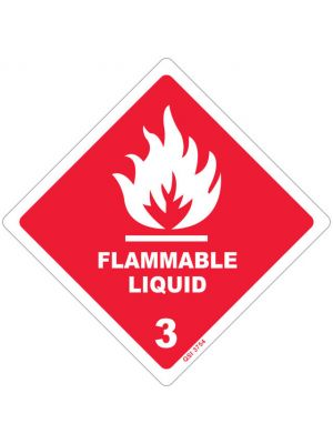 FLAMMABLE LIQUID with 3 (DG Diamond)