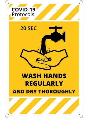 COVID-19 Wash Hands Regularly