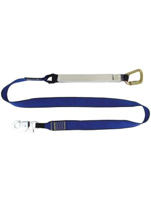1.5m Heavy Duty Single Leg Lanyard - 150kg Rated