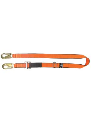 Adjustable Restraint Lanyard with 2x MH009 Double Action Hooks