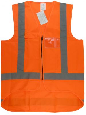 Ironwear Hi Vis Day/Night Vest in Orange