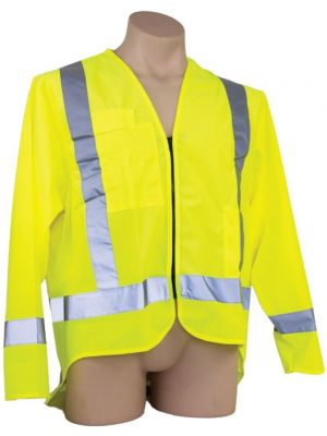 Ironwear Hi Vis Day/Night Long Sleeve Vest in Yellow