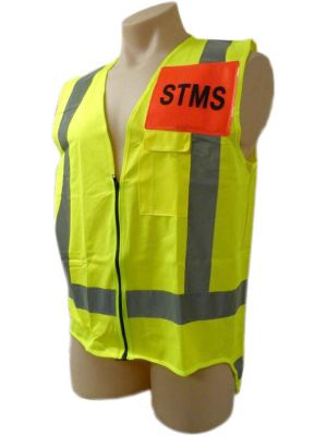 Ironwear Hi Vis Day/Night STMS Vest in Yellow