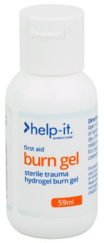 Help-It Burn Gel Bottle 59ml