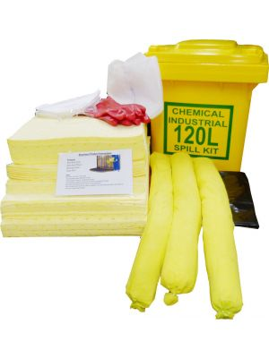 120L Chemical Help-It Spill Kit