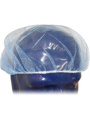 Blue Visual Synthetic Netting Hair Cover 53cm