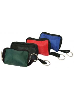 CPR Key Ring Pouch with CPR and Latex Gloves