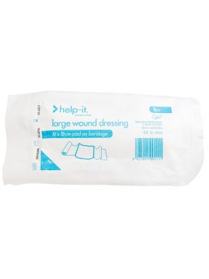 Help-It Wound Dressing - Large 18cm x 18cm