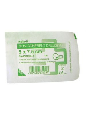 Help-It Non-Adherent Dressing - Pack of 5