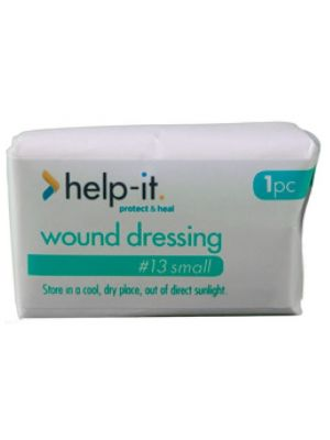 Help-It No. 13 Wound Dressing with Pad Size 7.5cm x 10cm