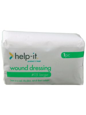 Help-It No. 15 Wound Dressing with Pad Size 15x20cm