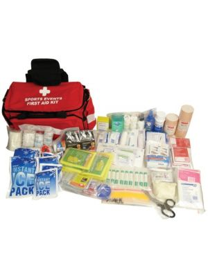 Comprehensive Sports Events First Aid Kit in First Responder Bag