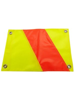 Hi Vis Lime/Orange/Lime - 45cm x 33cm 4x Eyes - Pair
