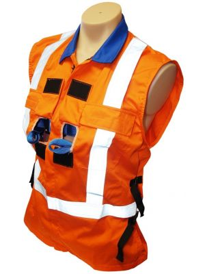FR Harness Vest w/ Front & Back Attachment Opening + SBE2KQR