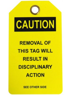 CAUTION DEFECTIVE' Lock Out Tag