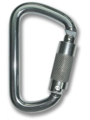 Carabiner - Stainless Steel  Triple Locking