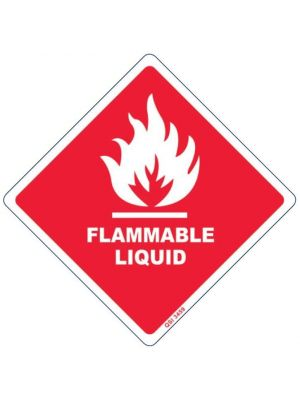 FLAMMABLE LIQUID w/o Numeral (DG Diamond)