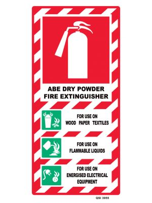 FIRE EXTINGUISHER ABE