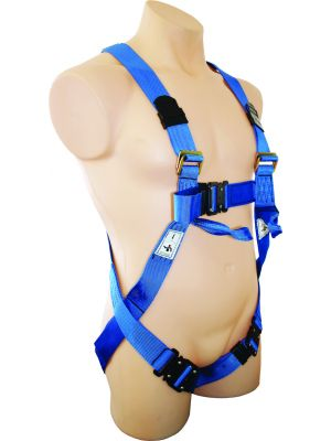 Full Body Harness - Rear & Lower Front Anchorage Points with Q/R Buckles [LL]
