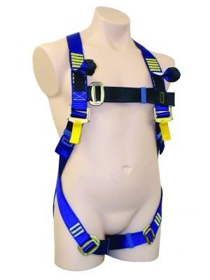 Small Full Body Basic Harness Dorsal D ring - Frontal Webbing Loops