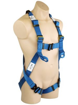 Full Body Harness - Front and Back Anchorage Points with Q/R Buckles