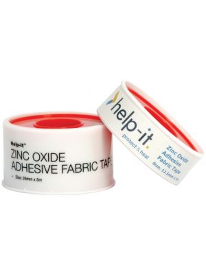 Help-It Fabric Zinc Oxide Roll on Spool