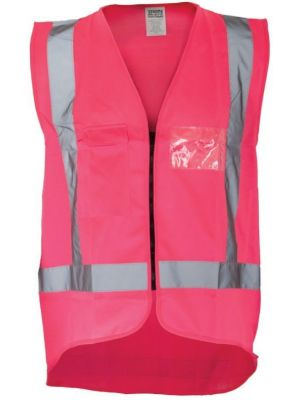Ironwear Hi Vis Night Vest in Pink
