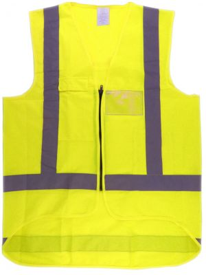 Ironwear Hi Vis Day/Night Vest in Yellow