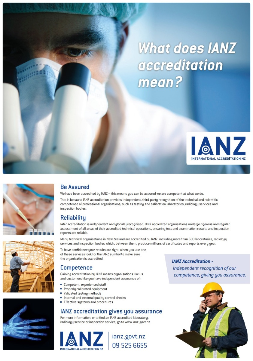 Accreditation - Why You Can Trust QSi